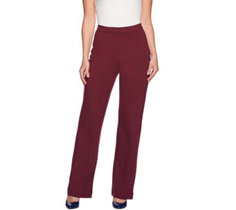 C. Wonder Regular Ponte Knit Full Leg Pull-On Pants - A280390