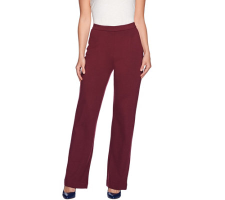 C. Wonder Regular Ponte Knit Full Leg Pull-On Pants