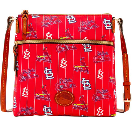 Dooney & Bourke MLB Nylon Cardinals Crossbody