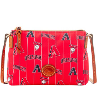 Dooney & Bourke MLB Nylon Diamondbacks Crossbody Pouchette - A281590