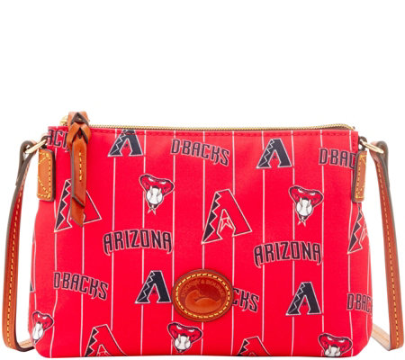 Dooney & Bourke MLB Nylon Diamondbacks Crossbody Pouchette