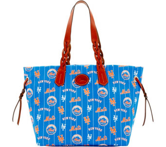 Dooney & Bourke MLB Nylon Mets Shopper - A281690