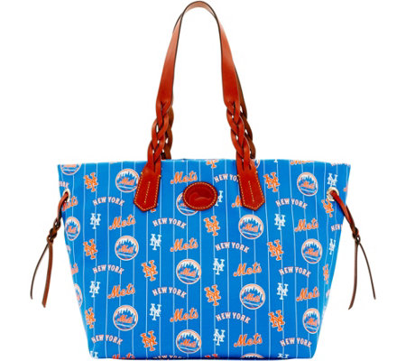 Dooney & Bourke MLB Nylon Mets Shopper