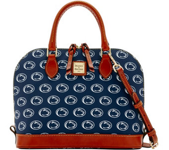 Dooney & Bourke NCAA Penn State University Zip Zip Satchel - A283190