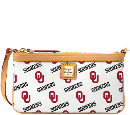 Dooney & Bourke NCAA University of Oklahoma Slim Wristlet