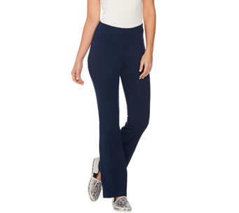 AnyBody Loungewear Cozy Knit Flare Pants - A286590