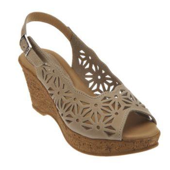 Spring Step Abigail Leather Slingback Sandals