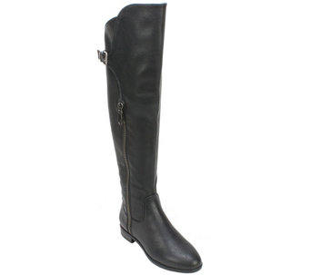 Rialto Knee-High Boot with Buckle Detail - Firstrow - A355190