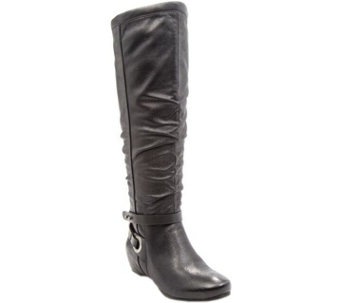 BareTraps Tall Shaft Wedge Boots - Siobhan - A356490