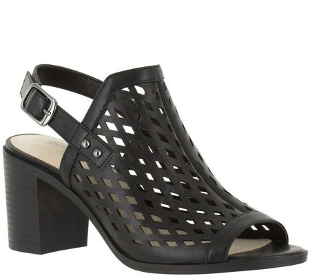 Easy Street Block Heel Sandals - Erin