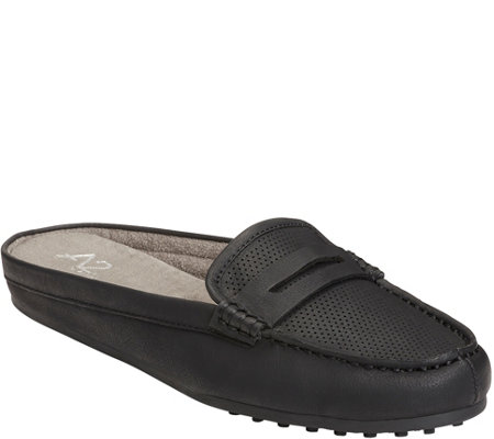A2 by Aerosoles Penny Loafer Mules - Drive Time
