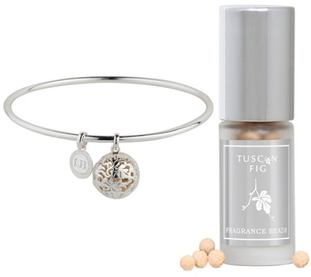 Lisa Hoffman Sterling Silver Fragrance Bangle