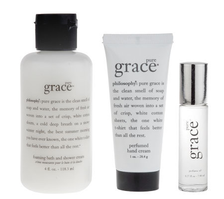 philosophy pure grace 3-piece try me kit