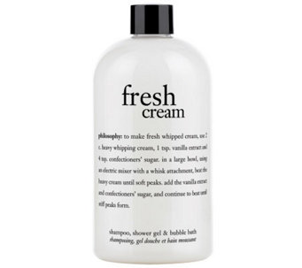 philosophy fresh cream 16 fl oz 3-in-1 shower gel - A183291