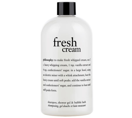 philosophy fresh cream 16 fl oz 3-in-1 shower gel