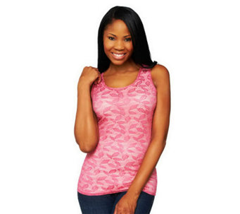Kathleen Kirkwood Undercover Agent Leafy Lace Tank - A230091