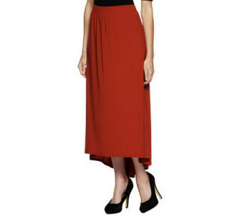 Attitudes by Renee Maxi Skirt with Back Pleat - A237091