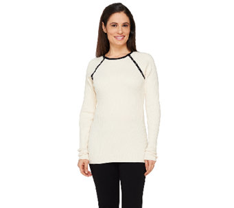 SA by Seth Aaron Sweater with Stud Detail - A262691