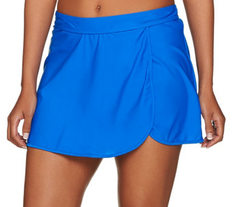 St. Tropez Wrap Skirt Swimsuit Bottom - A274591