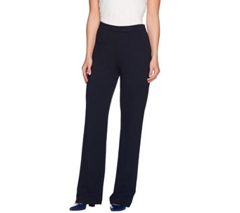 C. Wonder Petite Ponte Knit Full Leg Pull-On Pants - A280391
