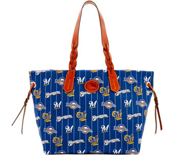 Dooney & Bourke MLB Nylon Brewers Shopper - A281691