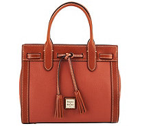Dooney & Bourke Pebble Leather Ariel Satchel - A282391