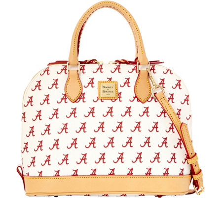 Dooney & Bourke NCAA University of Alabama Zip Zip Satchel