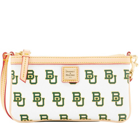 Dooney & Bourke NCAA Baylor University Slim Wristlet