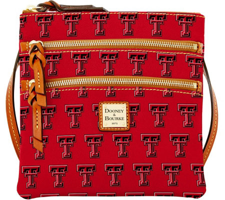 Dooney & Bourke NCAA Texas Tech University Zip Crossbody