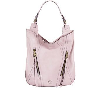 """As Is"" orYANY Soft Nappa Leather Hobo - Lexi - A283991"