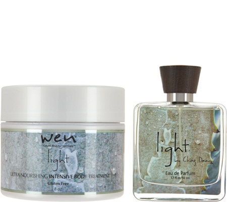 WEN by Chaz Dean Signature Light Body Treatment & 1.7 oz. EDP
