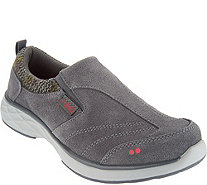 Ryka Suede Slip-on Shoes with CSS Technology - Terrain - A295191