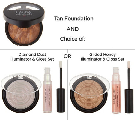 Laura Geller Glow Your Own Way 3-piece Collection