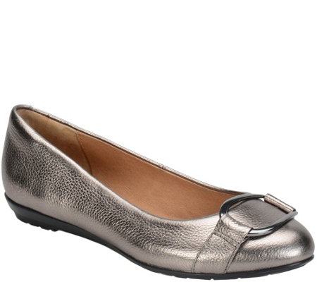 Sofft Modern Leather Flats - Benton