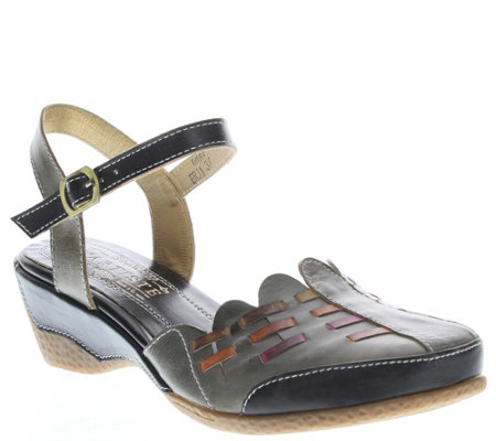 Spring Step L'Artiste Leather Sandals - Erja