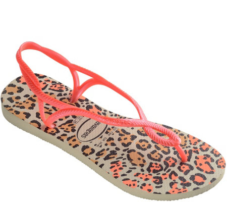 Havaianas Thong Sandals - Luna Animals
