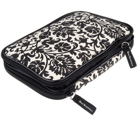 Bare Escentuals Extra-Large Expandable Floral Printed Makeup Bag