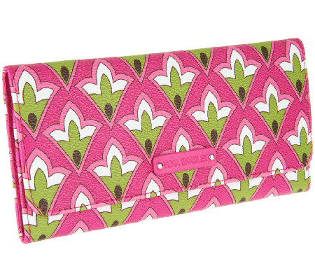 Vera Bradley Faux Leather Tri-Fold Wallet