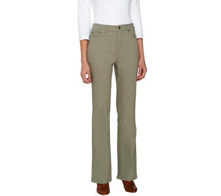 Liz Claiborne New York Petite Hepburn Colored Bootcut Jeans
