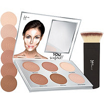 IT Cosmetics You Sculpted! Universal Contouring Palette w/Brush - A262392