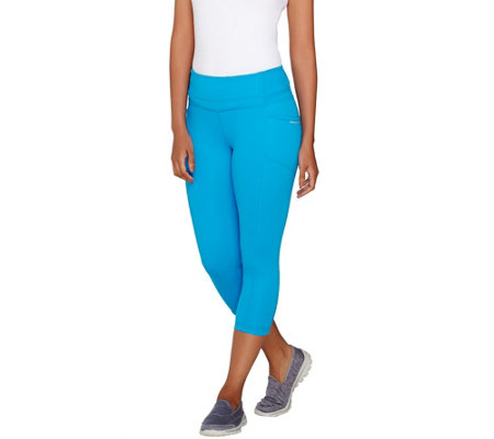 cee bee CHERYL BURKE Capri Pants with Pockets