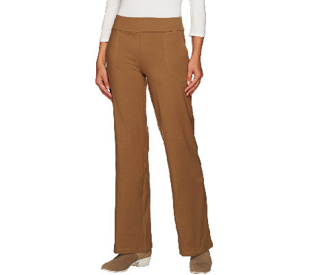 Women with Control Regular Contour Waist Boot Cut Pants