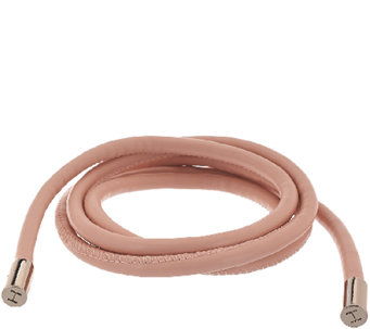 H by Halston Faux Leather Cord Tie Belt - A272192
