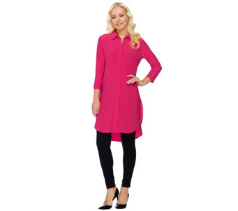 Women with Control Regular Tunic and Pintuck Leggings Set - A272692