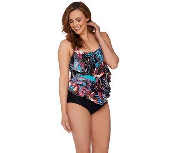womens swimwear — fashion — qvc