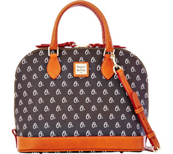 Dooney & Bourke MLB Orioles Zip Zip Satchel - A280092