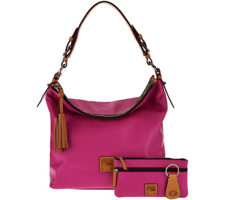 """As Is"" Dooney & Bourke Smooth Leather Hobo"