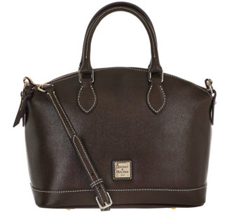 Dooney & Bourke Saffiano Leather Darcy Satchel - A282392