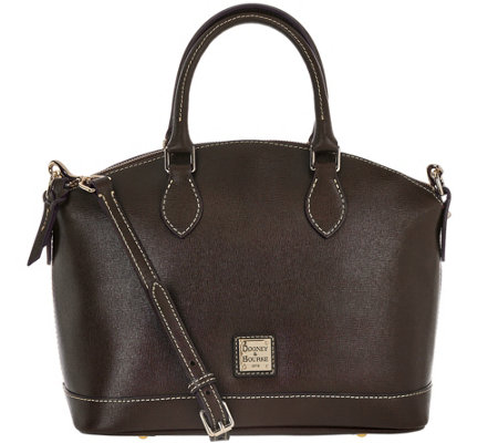 Dooney & Bourke Saffiano Leather Darcy Satchel