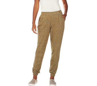 Linea Leisure by Louis Dell'Olio French Terry Pull-On Pants - A282492